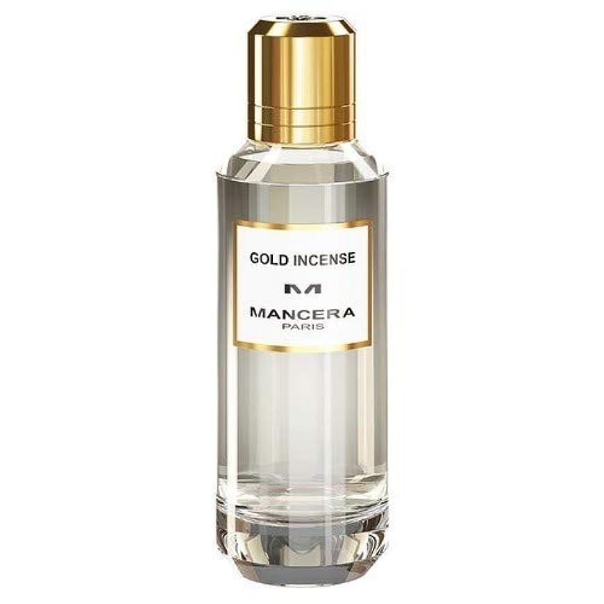 夏神経衰弱基準Mancera Gold Incense Eau de Parfum 2.1 oz./60 ml New in Box