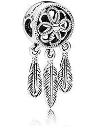 [パンドラ] PANDORA Spiritual Dreamcatcher チャーム (スターリングシルバー ストーン) 正規輸入品 797200