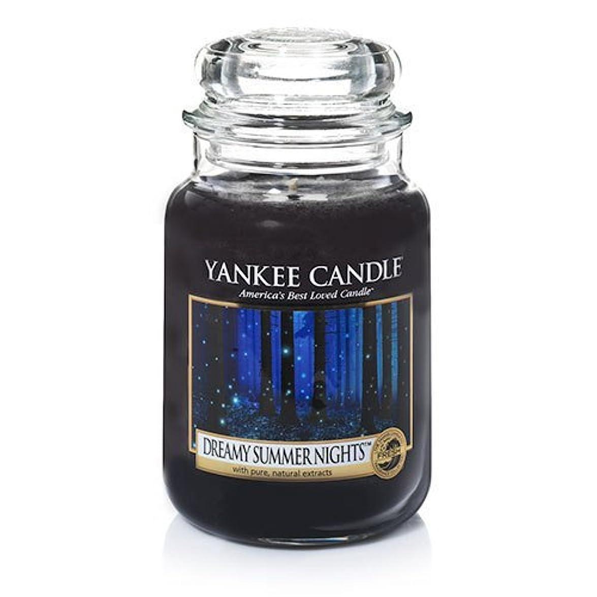 マイクロプロセッサ不格好の慈悲でYankeeキャンドルDreamy Summer Nights Large Jar Candle、新鮮な香り