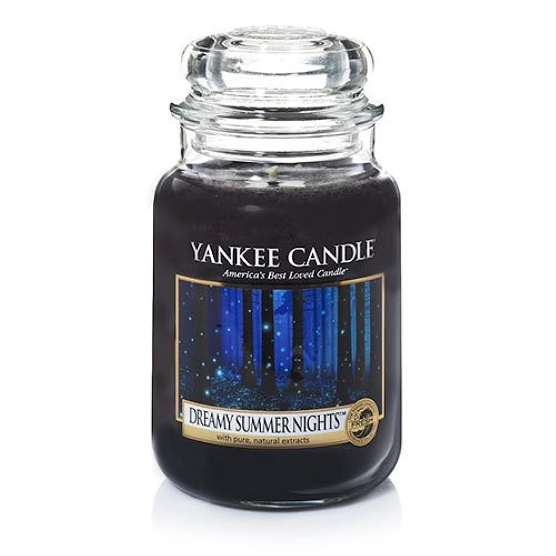 州トラブル捕虜YankeeキャンドルDreamy Summer Nights Large Jar Candle、新鮮な香り