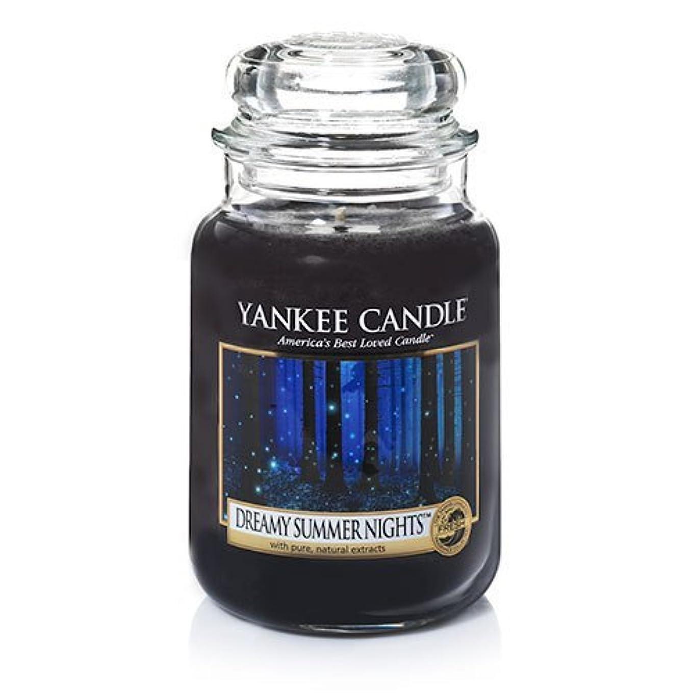 侵入マニアピクニックYankeeキャンドルDreamy Summer Nights Large Jar Candle、新鮮な香り