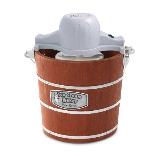 West Bend木製アイスクリームメーカー、4-quart Focus Electrics, LLC
