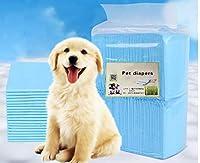 ペットの子犬のトレーニングパッド吸収スーパー吸収トイレ5リークロックレイヤーとピーウィーマット犬や猫のためにあなたのフロア、旅行ペットのおしっこを保護します,XL