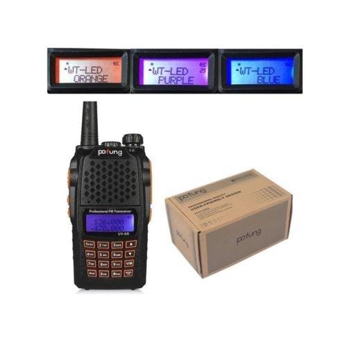 デュアルバンドアマチュア無線機 トランシーバー UV-6R UV-5Rが進化