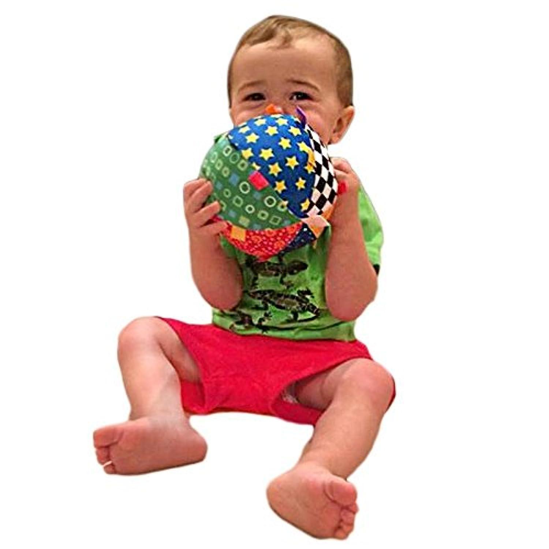 RaiFu 子供のための手の把握ベルクロスボールのおもちゃギフト/赤ちゃん/幼児カラフルなソフト