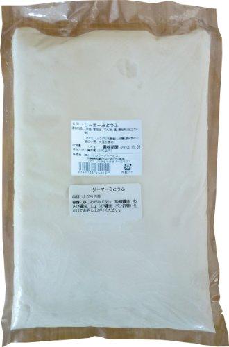 業務用 冷蔵 じーまーみとうふ 1kg×1袋 ハドムフードサービス プリンのような食感のもちもちピーナッツ豆腐 沖縄スイーツ