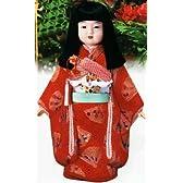 東芸:木目込人形材料セット 特製・市松人形(女) K291-15【お取寄せ商品】