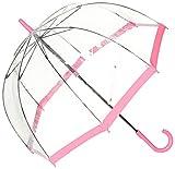 [ムーンバット] FULTON(フルトン) Birdcage バードケージ 婦人ビニール長傘 ピンク 日本 親骨60cm (FREE サイズ)