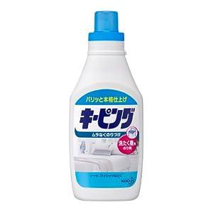 キーピング 衣料用のり剤 洗たく機用 本体 600ml