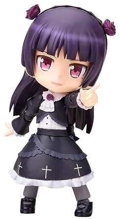 コトブキヤ キューポッシュ 俺の妹がこんなに可愛いわけがない。 黒猫 ノンスケール PVC製 塗装済み可動フィギュア