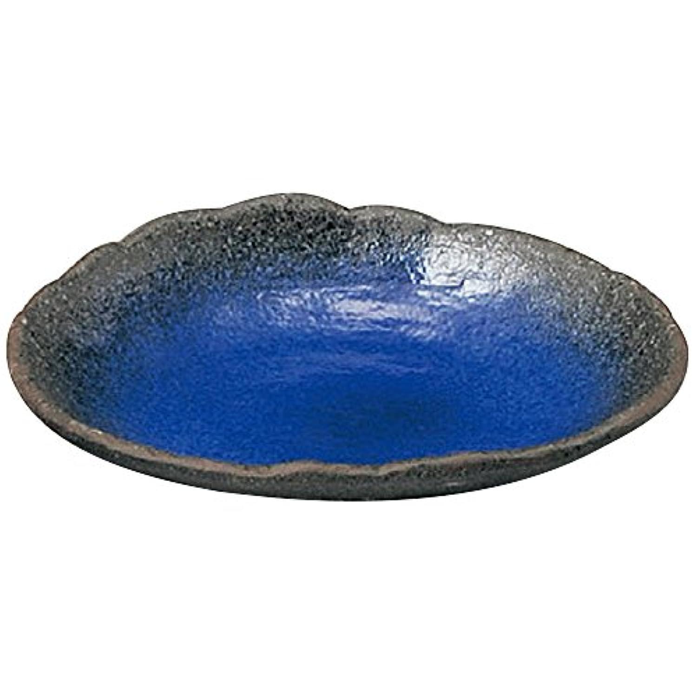 山下工芸(Yamasita craft) 伊賀るり釉 7.0変形刺身鉢 16×20×3.5cm 11474210