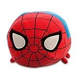 ディズニー(Disney)US公式商品 スパイダーマン プラッシュ ぬいぐるみ 人形 ツムツム 27.5cm 【中サイズ】 28cm(長さ) [並行輸入品]