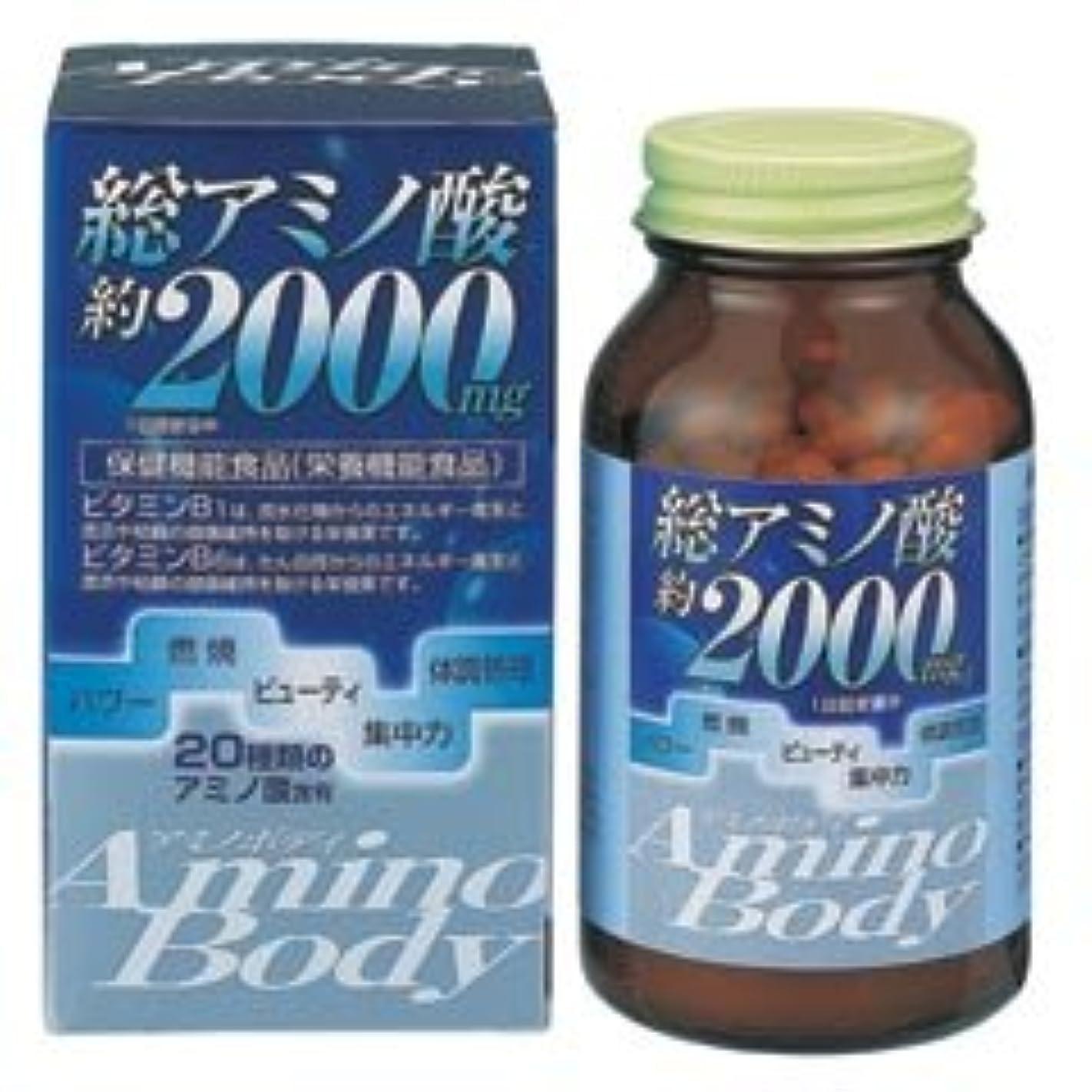 飢饉スクラップブック絶妙アミノボディ粒 250粒×(6セット)