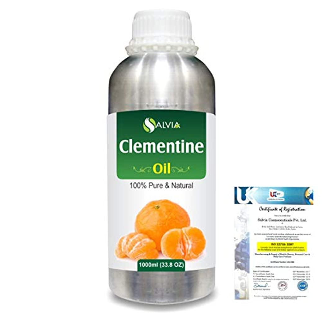 調停する効能ある中止しますClementine (Citrus Clementine) 100% Natural Pure Essential Oil 1000ml/33.8fl.oz.