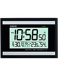 カシオ計算機(CASIO):電波 環境お知らせクロック(置掛兼用) IDL-100J-1JF
