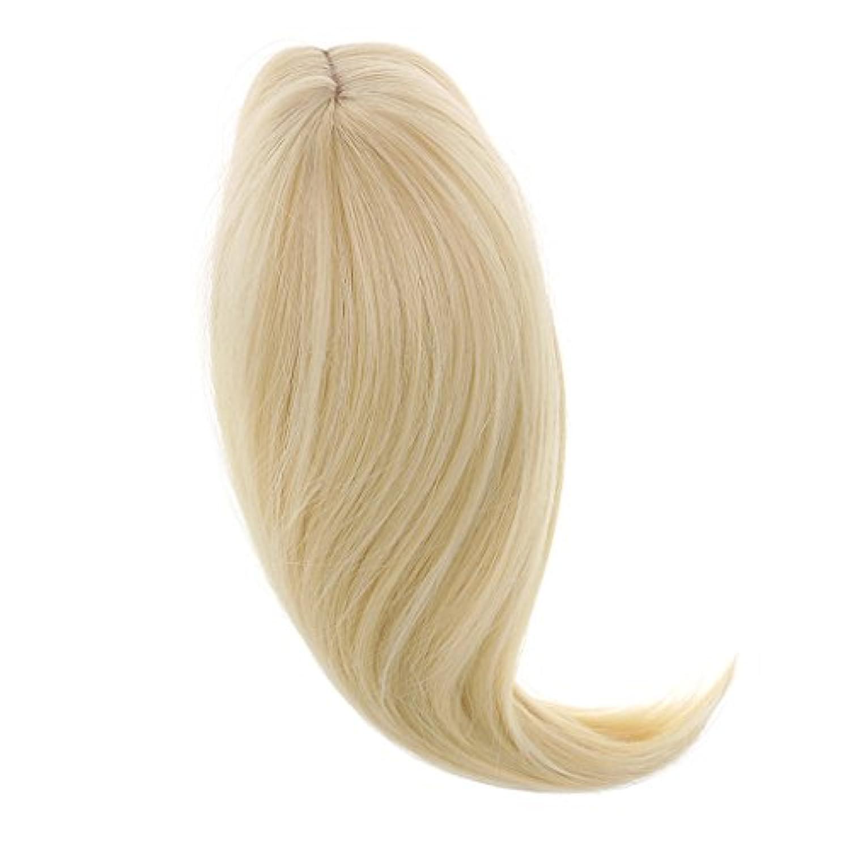 Dovewill 18インチ アメリカ女の子人形用 ドール ウィッグ ロングヘア かつら 28cm ファッション DIY用品 全6色選ぶ  - ライトゴールド