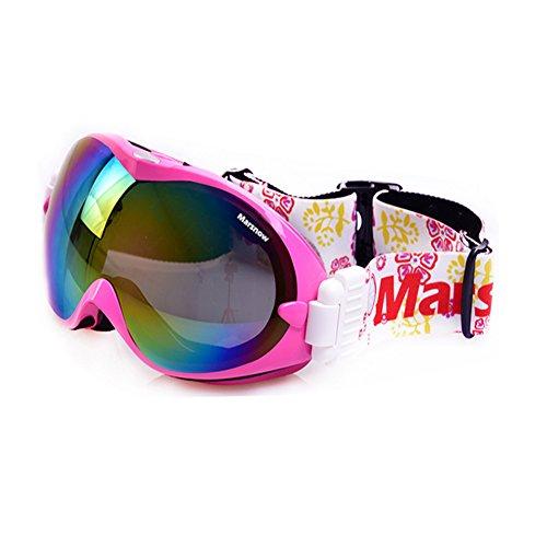First Pure(ファーストピュア) スキー・スノーボードゴーグル レディース メンズ 2ピンク 01Google-2Pink 2ピンク