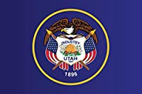 Utah State国旗フレーム入りポスター12x 18by proframes 18x12 inches