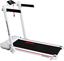 Endurance Bondi Treadmill - Folds Flat Under Bed or Upright in Cupboard.Compact Foldable Running Machine Great for...