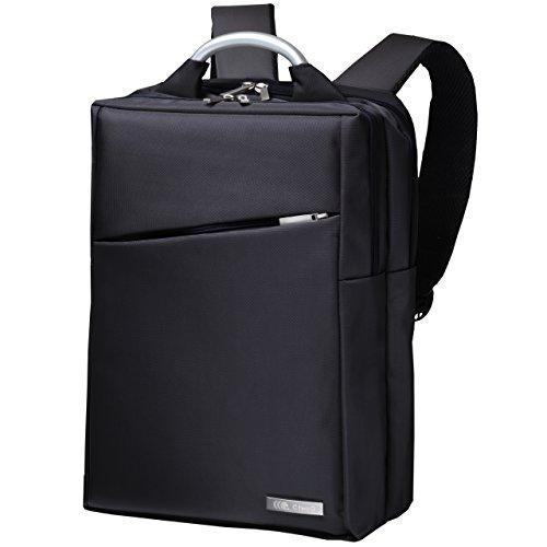 CtwoQ ビジネス リュック PCリュック PCバッグ メンズ 防水 大容量 3way リュックサック (ブラック)