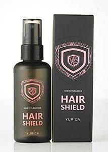 YURICA (ユリカ) HAIR SHIELD 韓国コスメ ヘアシールド ヘアキープ ヘアスプレー ヘアミスト ヘアフィクサー ヘアスタイル固定 ヘアダメージケア