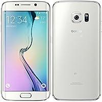 SAMSUNG au Galaxy S6 edge SCV31 64GB White Pearl