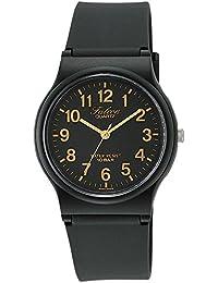 [シチズン キューアンドキュー]CITIZEN Q&Q 腕時計 Falcon (フォルコン) アナログ表示 10気圧防水 ブラック×ゴールド VP46-853