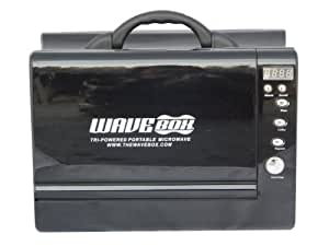 WAVE BOX [ ウェーブボックス ] ポータブル電子レンジ 黒 BLACK wavebox-BK