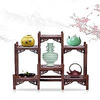 茶器 香炉 盆栽 花瓶 台 棚 花台 木製 和風 モダン アンティーク ディスプレイ ウッド ラック 家具 オブジェ 工芸の置物