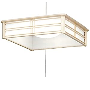 アイリスオーヤマ LED ペンダントライト 調光 タイプ ~10畳 和風 昼光色 PLC10D-J