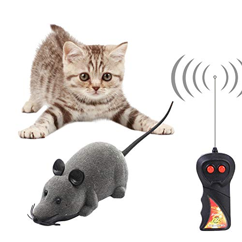 リモコン ネズミ 電動ネズミ 猫おもちゃ キャッチ 猫遊び 運動不足解消 ストレス解消 ダイエット ...