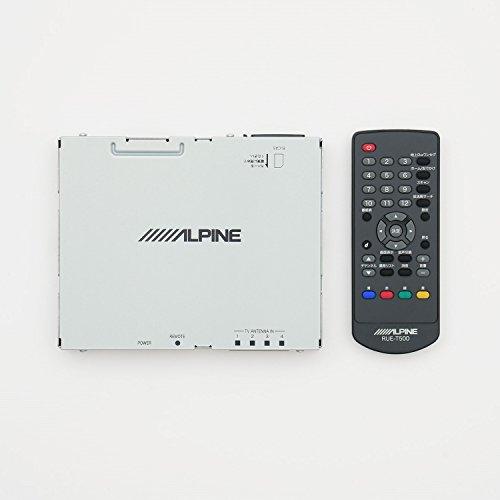 アルパイン(ALPINE) 4×4地上デジタルチューナー 地デジ RCA接続 (フルセグ ワンセグ) TUE-T500