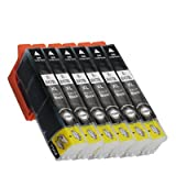 ICBK70/70L 互換インク エプソン ブラック 6個セット IC70 EPSON ICチップ付 1年保証付 プリンター保証付