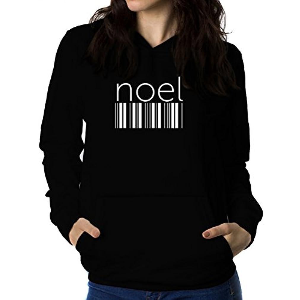 剣業界ふつうNoel barcode 女性 フーディー