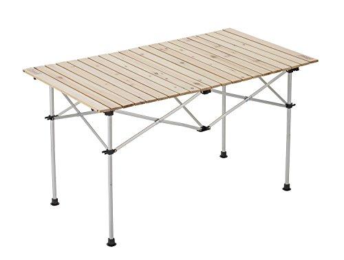 コールマン(Coleman) テーブル ナチュラルウッドロールテーブル 120 4~6人用 2000031291