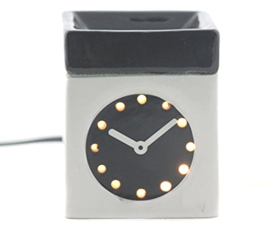 新年暫定アウターKarguzzari セラミック 電気 アロマディフューザー ワイヤー オイルウォーマー ディスペンサー コード付き アロマ オイルバーナー エッセンシャルオイル ディフューザー アロマセラピー ランプ 腕時計 OCER...