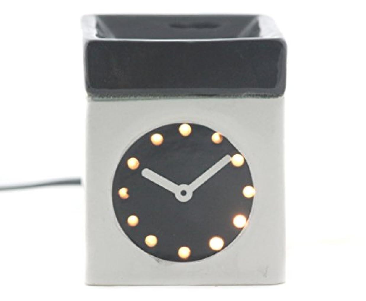 絵ステーキ嘆くKarguzzari セラミック 電気 アロマディフューザー ワイヤー オイルウォーマー ディスペンサー コード付き アロマ オイルバーナー エッセンシャルオイル ディフューザー アロマセラピー ランプ 腕時計 OCER...
