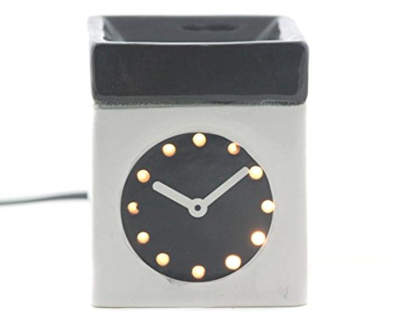 蓄積する空白新聞Karguzzari セラミック 電気 アロマディフューザー ワイヤー オイルウォーマー ディスペンサー コード付き アロマ オイルバーナー エッセンシャルオイル ディフューザー アロマセラピー ランプ 腕時計 OCER...