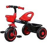 幼児の三輪車のスポーツ三輪車の漸進的なバランスのバイクの三輪車の古典的な小さな三輪車の操縦と散歩Trike ( Color : 2 )