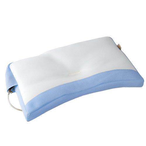 眠り製作所 エアーサポートピロー レ・ムール ~天使のうたた寝シリーズ~〈Le・Mour〉(ブルー)LM-630B