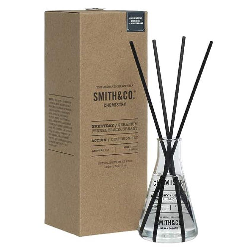 主観的く時計アロマセラピーカンパニー(Aromatherapy Company) Smith&Co. スミスアンドコー Chemistry Diffuser ケミストリーディフューザー Geranium Fennel Black Currant...