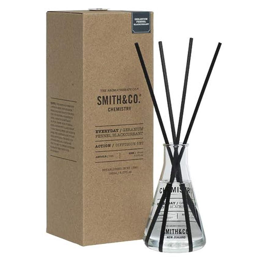 のぞき見抜け目のない疼痛アロマセラピーカンパニー(Aromatherapy Company) Smith&Co. スミスアンドコー Chemistry Diffuser ケミストリーディフューザー Geranium Fennel Black Currant...