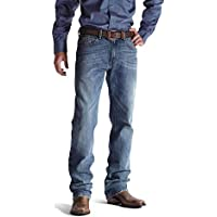 ARIAT Mens 10020815 M2 Relaxed Fit Boot Cut Jean Jeans - Blue