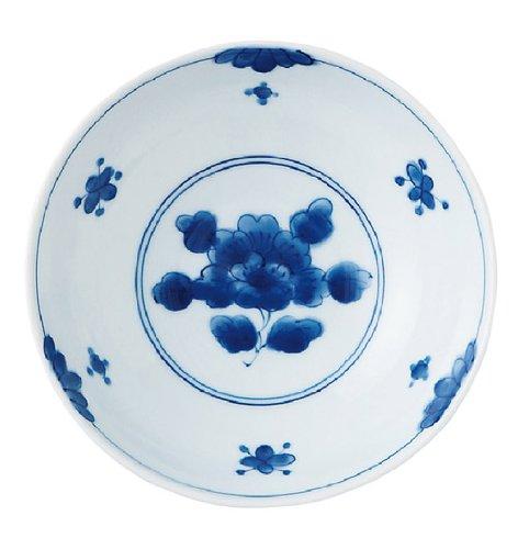 みのる陶器 藍凛堂 濃牡丹 RI5.5寸中鉢 DBOYFBM