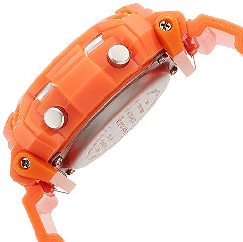 『[アリアス]ALIAS 腕時計 電波ソーラー デジタル ウェーブトランス 5気圧防水 ウレタンベルト オレンジ WT13003RCSOL4 メンズ』の2枚目の画像