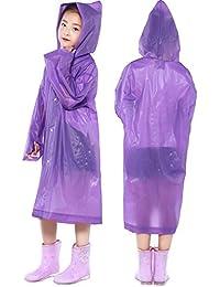 b2ddacebfc3f6 Amazon.co.jp: パープル - レインウェア / ガールズ: 服&ファッション小物