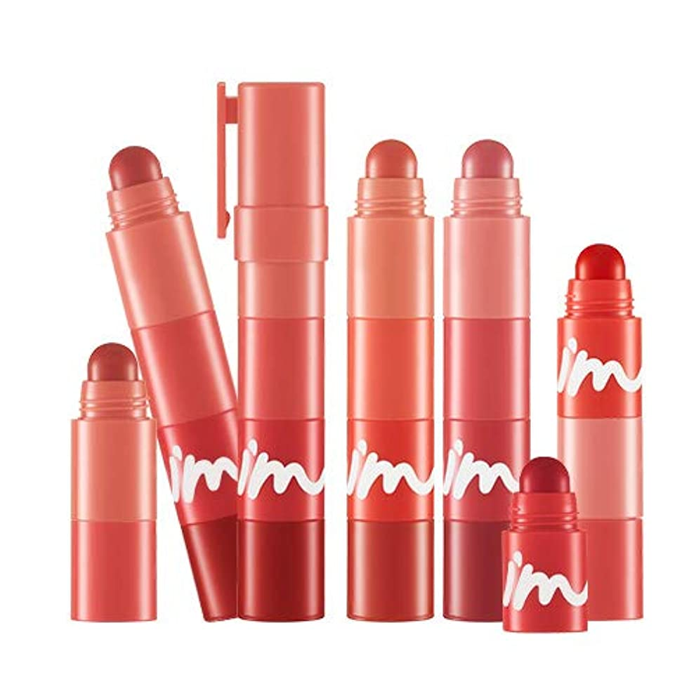 テザープリーツ生態学I'M MEME マルチリップクリヨン - マット MULTI LIP CRAYON MATTE - MATTE (#001 Red On My Lips) [並行輸入品]