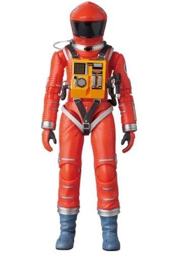 2001年宇宙の旅 アクションフィギュア MAFEX SPACE SUIT(ORANGE Ver.) 宇宙飛行士 アストロノーツ スタンリーキューブリック