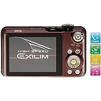 【高光沢】Casio EXILIM EX-FC150用 指紋防止 高光沢 気泡ゼロ カメラ液晶保護フィルム (6.3x4.5cm)機種対応 (1枚セット)