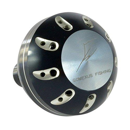 ゴメクサス(Gomexus) パワーハンドルノブメタル ダイワ(Daiwa) タイプ L スピニング ベイトリール ハンドル適用45mm